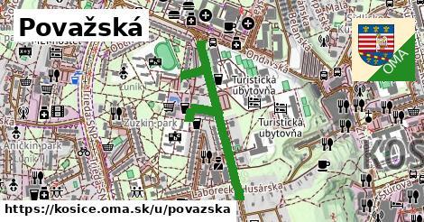 ilustrácia k Považská, Košice - 698m