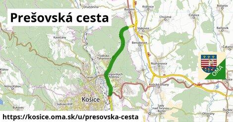 ilustrácia k Prešovská cesta, Košice - 4,8km