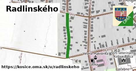 Radlinského, Košice