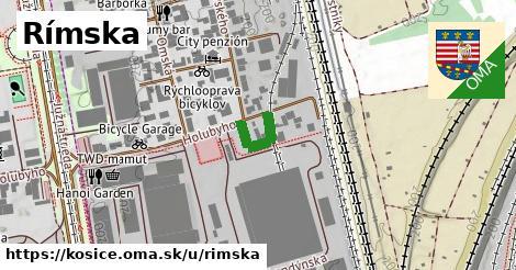 ilustrácia k Rímska, Košice - 115m