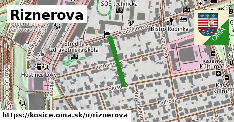 ilustrácia k Riznerova, Košice - 166m