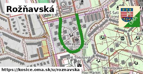 ilustrácia k Rožňavská, Košice - 444m