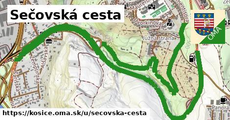 ilustrácia k Sečovská cesta, Košice - 4,0km