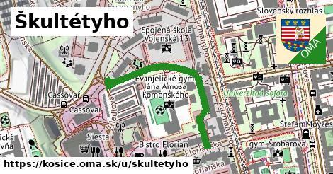 ilustrácia k Škultétyho, Košice - 391m