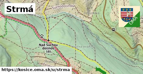 ilustrácia k Strmá, Košice - 680m