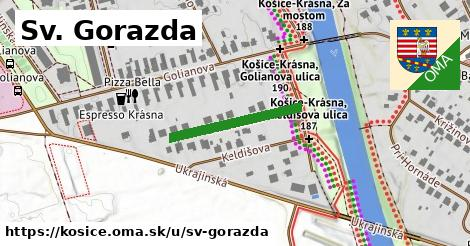 ilustrácia k Sv. Gorazda, Košice - 214m