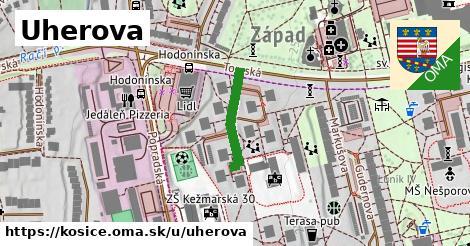 Uherova, Košice