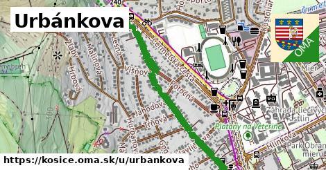 Urbánkova, Košice