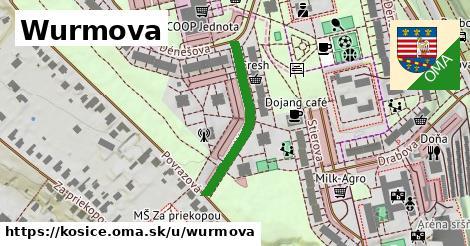 ilustrácia k Wurmova, Košice - 266m