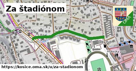 ilustrácia k Za štadiónom, Košice - 410m