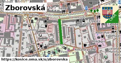 ilustrácia k Zborovská, Košice - 152m