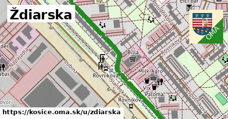ilustrácia k Ždiarska, Košice - 0,76km