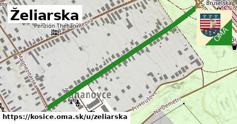 ilustrácia k Želiarska, Košice - 585m