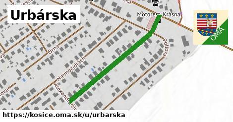 ilustrácia k Urbárska, Košice - 404m