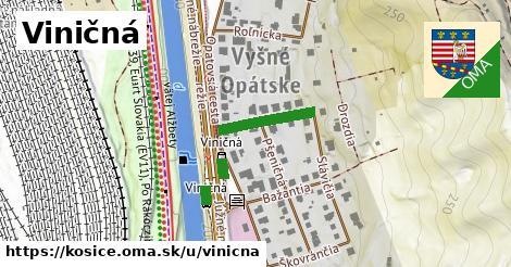 ilustrácia k Viničná, Košice - 197m