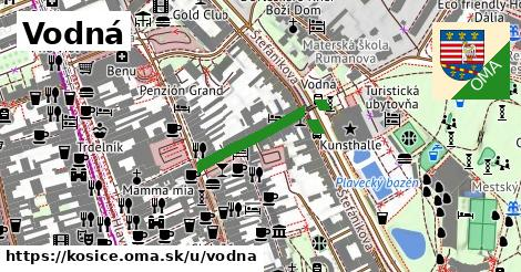 ilustrácia k Vodná, Košice - 172m