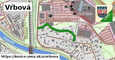 ilustrácia k Vŕbová, Košice - 314m