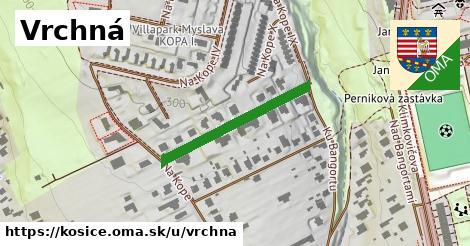 ilustračný obrázok k Vrchná, Košice