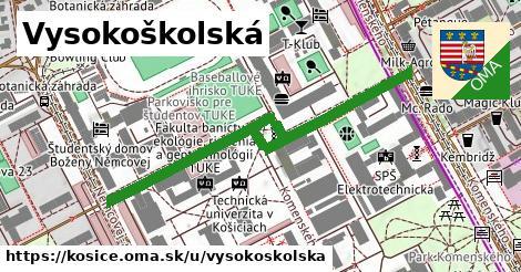 ilustračný obrázok k Vysokoškolská, Košice