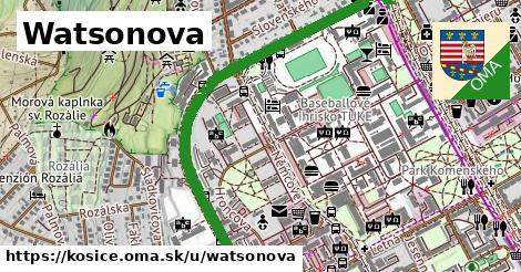 ilustrácia k Watsonova, Košice - 1,54km