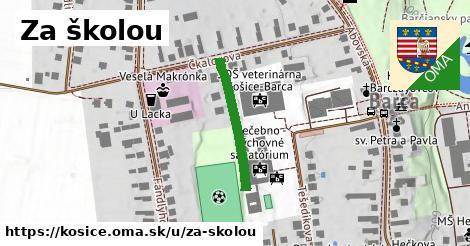 ilustračný obrázok k Za školou, Košice