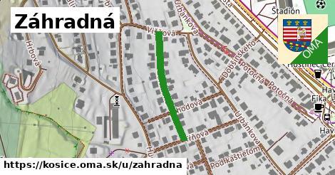ilustrácia k Záhradná, Košice - 249m