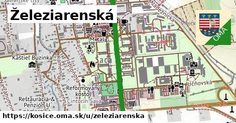 ilustračný obrázok k Železiarenská, Košice