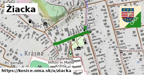 ilustračný obrázok k Žiacka, Košice