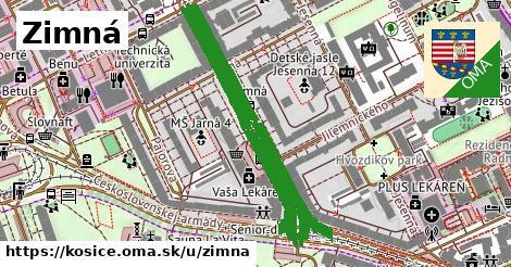 ilustrácia k Zimná, Košice - 0,90km