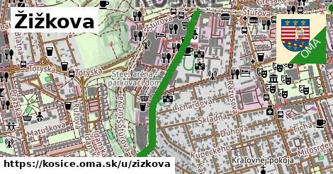 ilustrácia k Žižkova, Košice - 0,73km