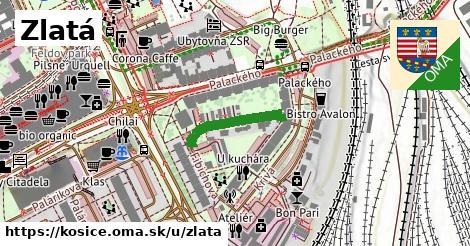 ilustrácia k Zlatá, Košice - 170m