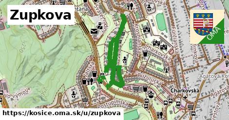 ilustračný obrázok k Zupkova, Košice