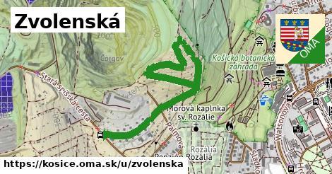 ilustrácia k Zvolenská, Košice - 1,28km
