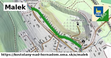 ilustrácia k Malek, Kostoľany nad Hornádom - 463m