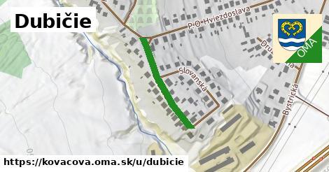 ilustračný obrázok k Dubičie, Kováčová