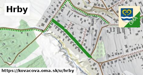 ilustračný obrázok k Hrby, Kováčová