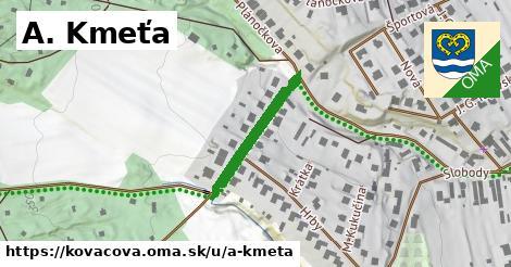 ilustrácia k A. Kmeťa, Kováčová - 215m