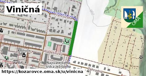 ilustrácia k Viničná, Kozárovce - 179m