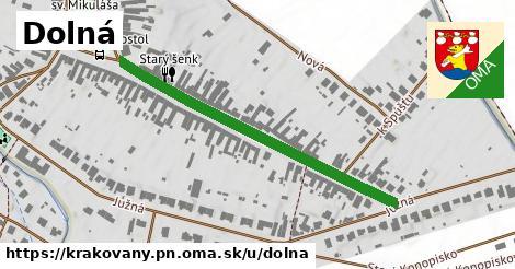 ilustrácia k Dolná, Krakovany, okres PN - 445m