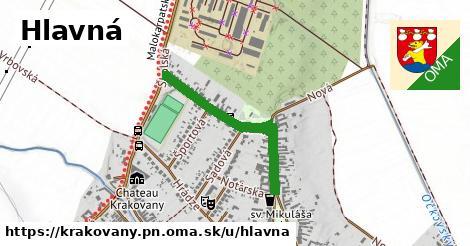 ilustrácia k Hlavná, Krakovany, okres PN - 665m