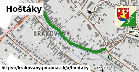 ilustrácia k Hoštáky, Krakovany, okres PN - 470m