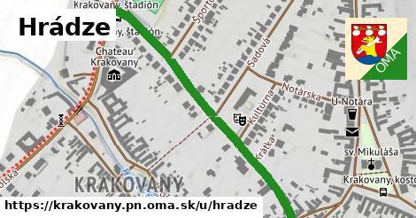 ilustrácia k Hrádze, Krakovany, okres PN - 498m