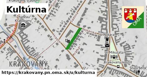 ilustračný obrázok k Kultúrna, Krakovany, okres PN