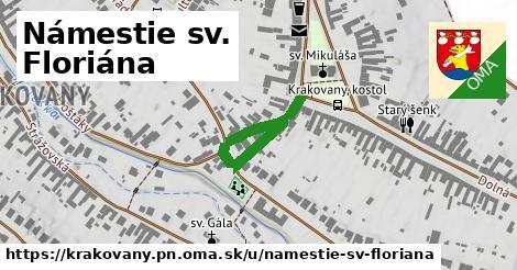 ilustračný obrázok k Námestie sv. Floriána, Krakovany, okres PN