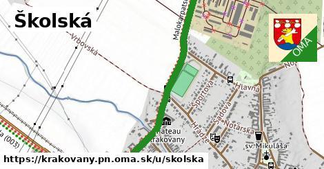 ilustrácia k Školská, Krakovany, okres PN - 1,24km