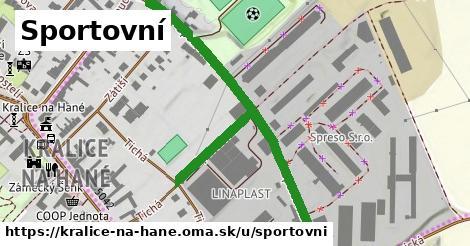 ilustrácia k Sportovní, Kralice na Hané - 0,73km
