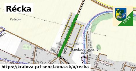 ilustrácia k Récka, Kráľová pri Senci - 385m