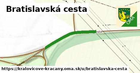 ilustrácia k Bratislavská cesta, Kráľovičove Kračany - 281m