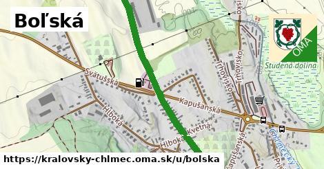 ilustrácia k Boľská, Kráľovský Chlmec - 1,26km