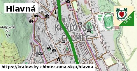 ilustrácia k Hlavná, Kráľovský Chlmec - 1,37km